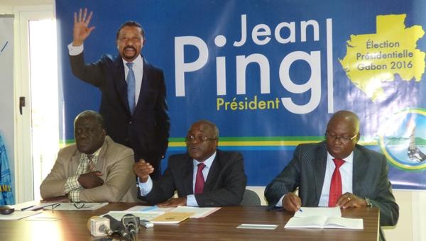 Le comité juridique de Jean Ping présente ses arguments à la Cour constitutionnelle