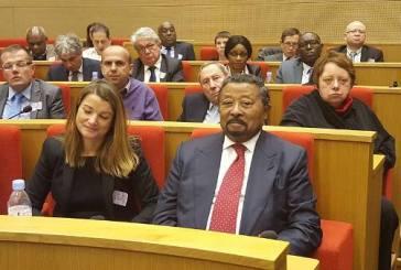 Ping et Moundounga au colloque sur l'avenir de l'Afrique à Paris