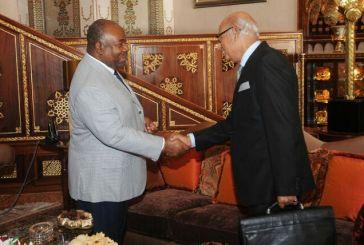 Ali Bongo sollicité par les hommes d'affaires marocains et saoudiens