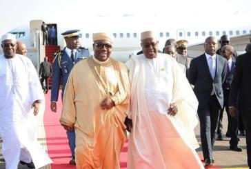 Ali Bongo Ondimba  à Bamako avant de revenir donner le coup d'envoi de la CAN samedi à Libreville