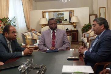 Aménagement du réseau routier national : Jean Pierre Oyiba échange avec le groupe Arabe  Contactors E.G LTG