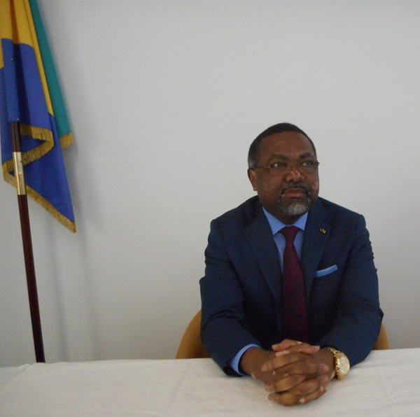 France : Flavien Enongoué a pris ses fonctions d'ambassadeur du Gabon