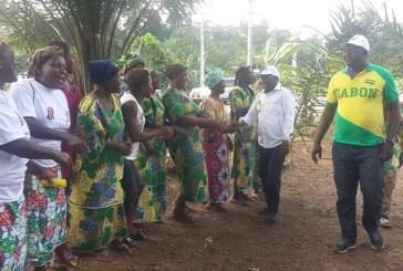 Alain Bourobou présenté officiellement dans son fief politique du canton Bokoué