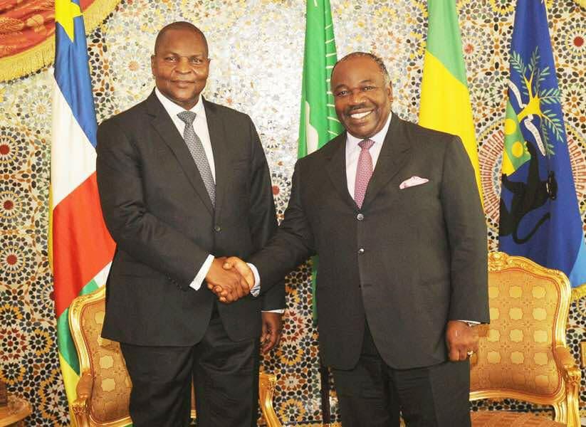 Nouvelle visite du président centrafricain Faustin Archange Touadéra à Libreville
