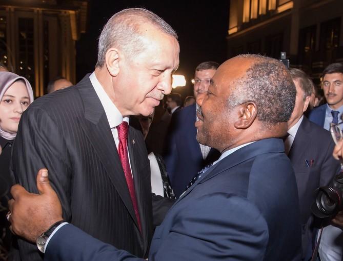 Ali Bongo Ondimba présent à l'investiture de Recep Tayyip Erdogan