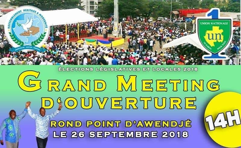 Elections 2018: Héritage & Modernité ouvre officiellement sa campagne ce mercredi à Libreville