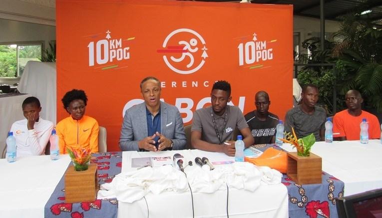 « Parmi les 8 600 coureurs, il y en a beaucoup qui ne  viennent pas de Port-Gentil, c'est  important pour l'unité et la cohésion sociale » (Franck Nguema)