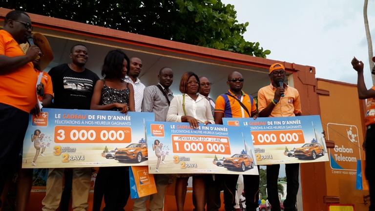 Super tombola de Gabon Telecom : 11 heureux gagnants