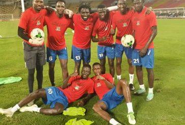 Eliminatoires CAN 2021 : la Gambie poursuit sa sensation et surclasse le Gabon dans le groupe G