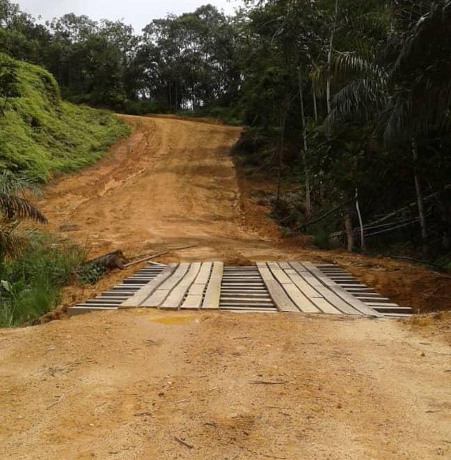 Des travaux routiers d'envergure pour désenclaver le département de la Boumi-Louetsi
