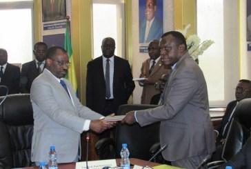 Maurice Dikongo dans ses fonctions de PCA de la GOC