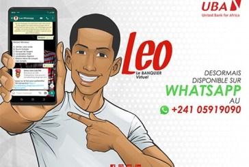 UBA Gabon lance Léo, le banquier virtuel sur  Whatsapp