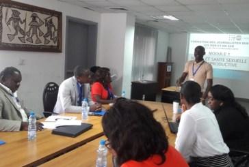 Les journalistes en formation sur les questions de santé sexuelle reproductive