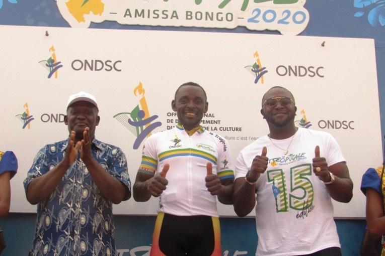 4ème étape de la Tropicale Amissa Bongo 2020 : victoire sur le fil du camerounais Clovis Kamzong
