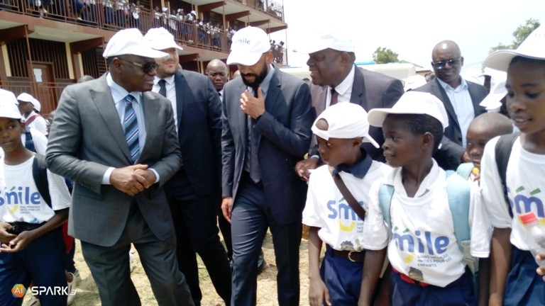 Noureddin Bongo prend ses marques sur le terrain