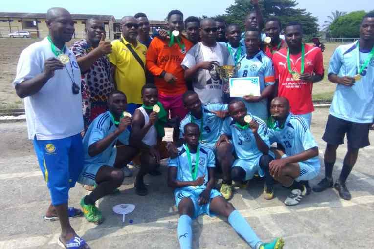 Le tout puissant Obaka vainqueur de la 2ème édition du tournoi sixte de football inter DCRH