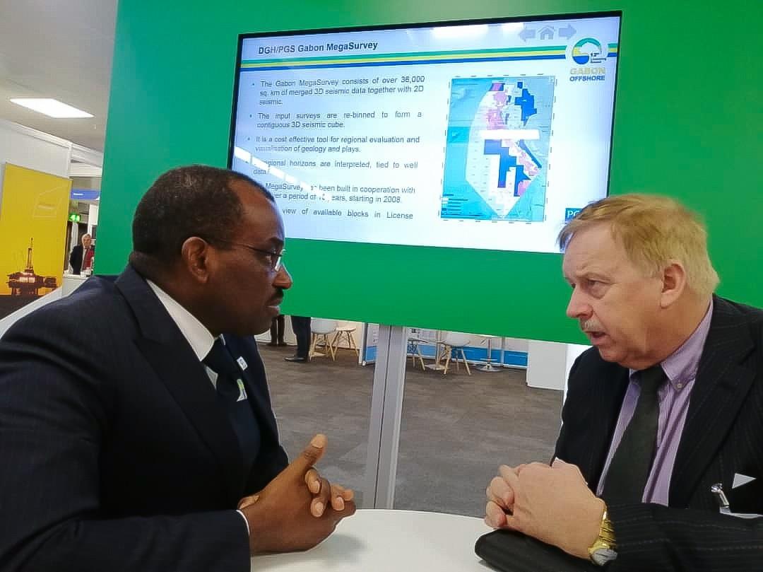 Vincent de Paul Massassa vante le potentiel pétrolier du Gabon aux investisseurs anglais