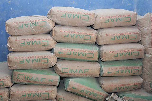 A Moanda le sac de ciment est vendu à 7500 ou 8500 contre 2450 FCFA au Congo voisin