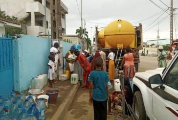 La SEEG poursuit sa campagne de distribution d'eau pour pallier la carence dans certains quartiers de Libreville