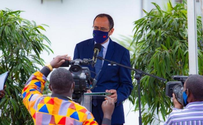 La nouvelle usine de CIMAF Gabon produira 500 000 tonnes de ciments par an: l'Ambassadeur du Maroc salut une coopération Sud-sud gagnant-gagnant