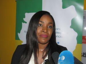 Le Directeur général de ST Digital Gabon, Laîka Mba © Gabonactu.com