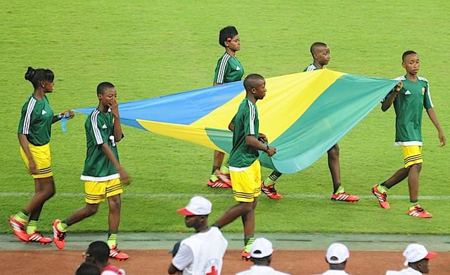 Scène souvenir de la Can 2012 au Gabon. © DCP-Gabon