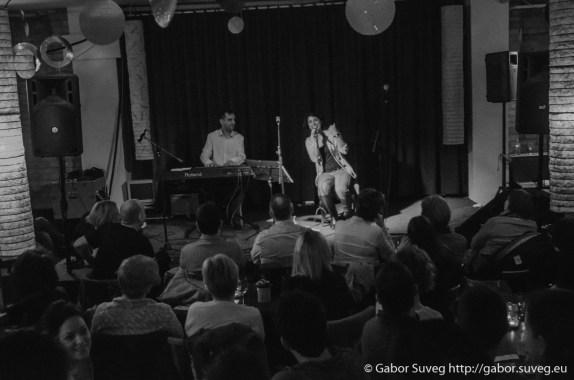 Jazz Est: Rabie Lilienn & Kónyai Tibor feat. Big John Whitfield @ Bugócsiga Akusztik Garden / 2 © Gabor Suveg