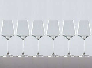 Six wine glass set for gifts