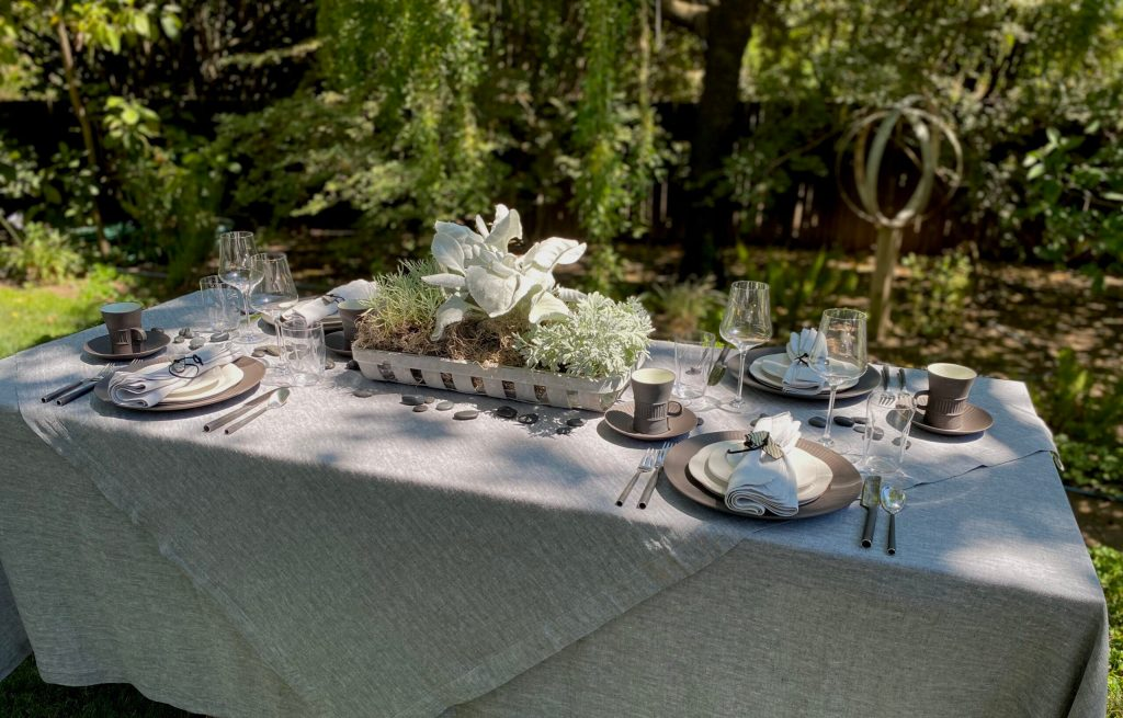 Tablescape How-To: Sunday Brunch