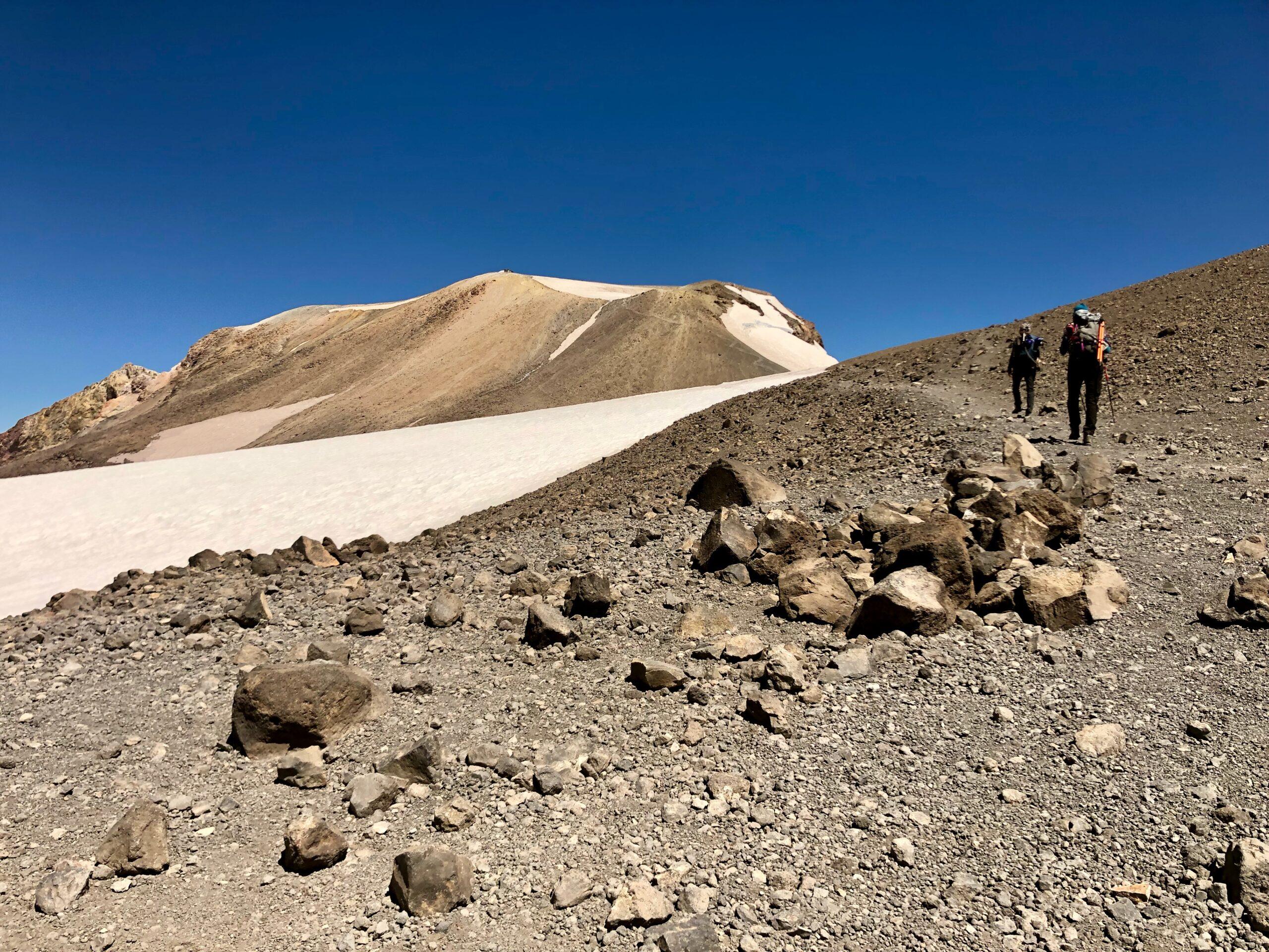View of summit above pikers peak
