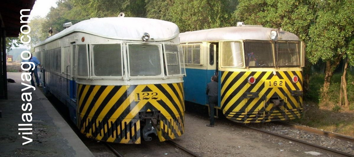 Sobrevivientes de dos épocas del ferrocarril se cruzan en Toledo ( © G.Erosa )