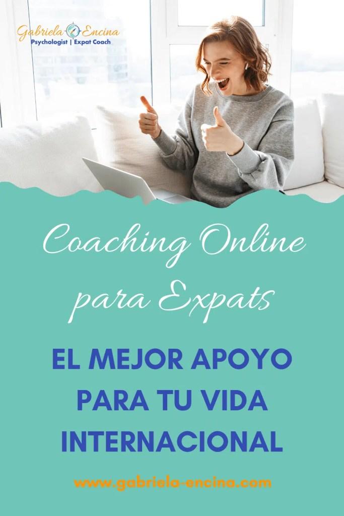 mujer expat en coaching online