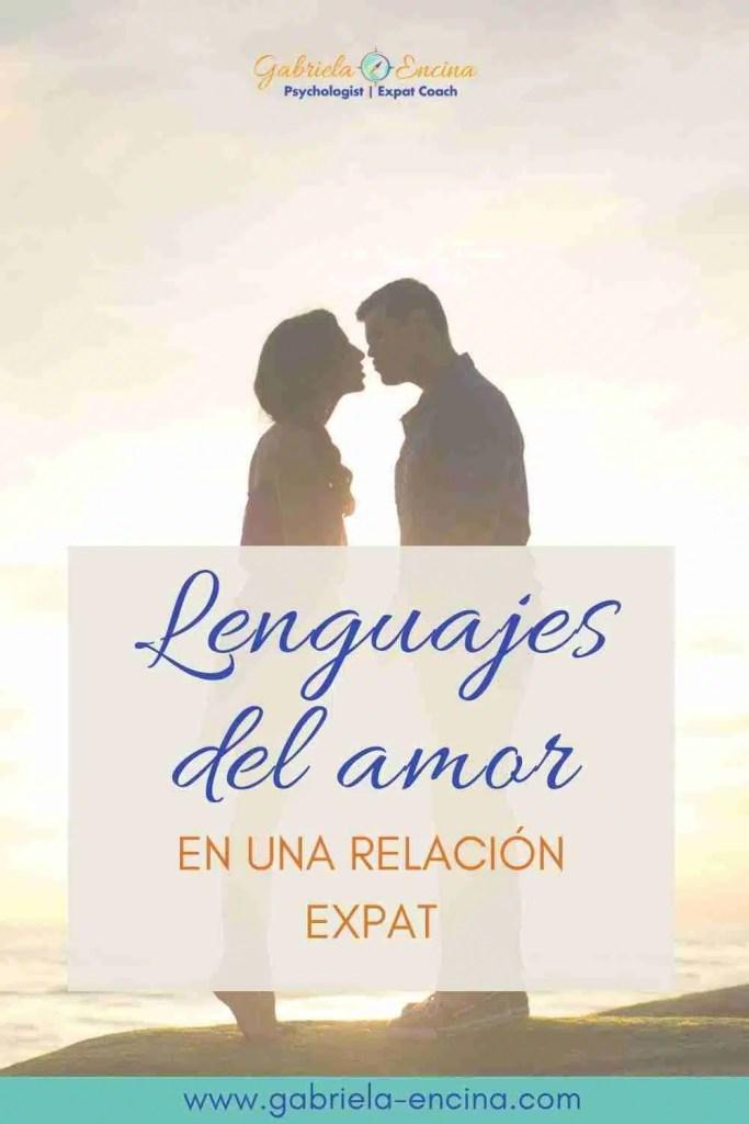 lenguajes del amor relación expat pinterest