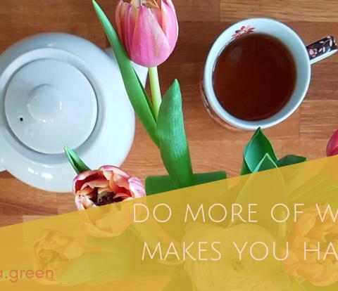 Do more of what makes you happy | Gabriela Green | www.gabriela.green