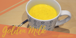 How to make Golden Milk Turmeric tea – The easiest recipe | Gabriela Green | www.gabriela.green