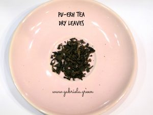 Beginner's guide to Pu-erh tea |Pu-erh dry leaves| Gabriela Green