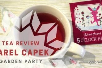 Karel Čapek Tea review - Garden Party- Gabriela Green - www.gabriela.green