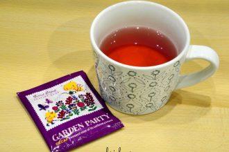 Karel Capek tea review | Garden Party tea cup | Gabriela Green blog