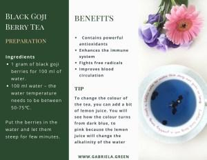 Black Goji Berry Tea Benefits - www.gabriela.green