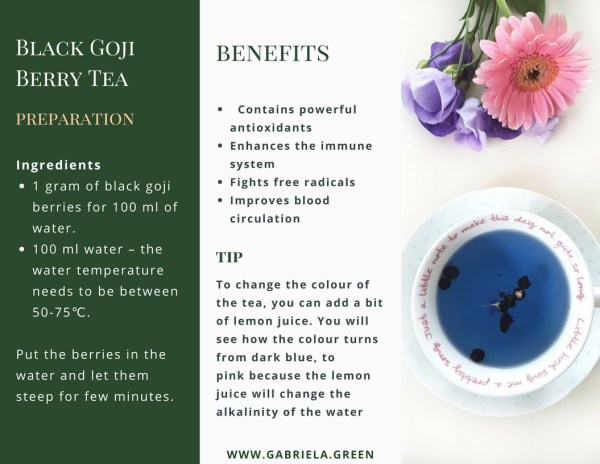 Black Goji Berry Tea Benefits - www.gabriela.green