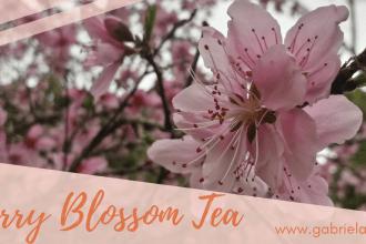 Cherry Blossom Tea - Gabriela Green - www.gabriela.green