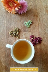 Sweet Calm Tea recipe - www.gabriela.green