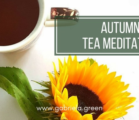 Autumn Tea Meditation - Gabriela Green Blog - www.gabriela.green