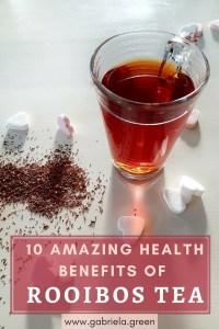 10 amazing Benefits of Rooibos Tea - Gabriela Green - www.gabriela.green