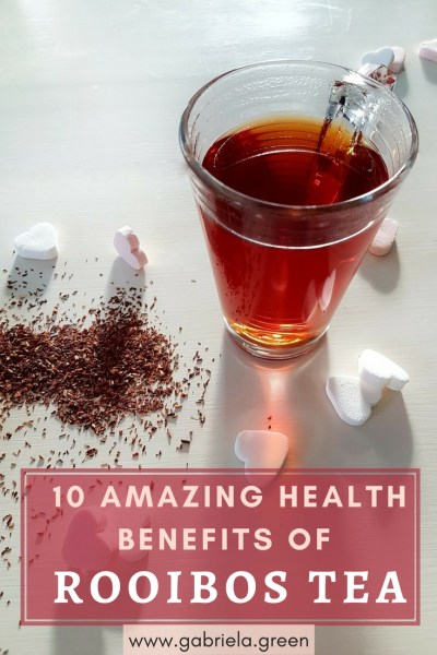 10 amazing Benefits of Rooibos Tea - Gabriela Green - www.gabriela.green