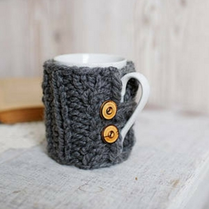 Knitted Cozy Cup