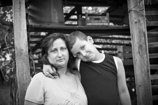 gabriela fine art photography- portrait of a woman as a mother, Gitta