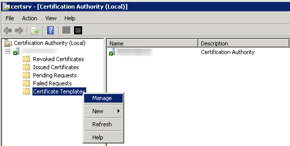 The requested certificate template is not supported by this ca a sccm 2012 part ii certificate configuration gabrielbeaver now right click on workstation authentication and click duplicate yelopaper Image collections