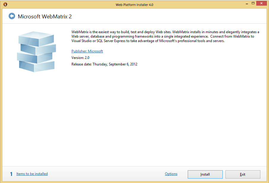 Download building aspnet web pages with microsoft webmatrix 2.