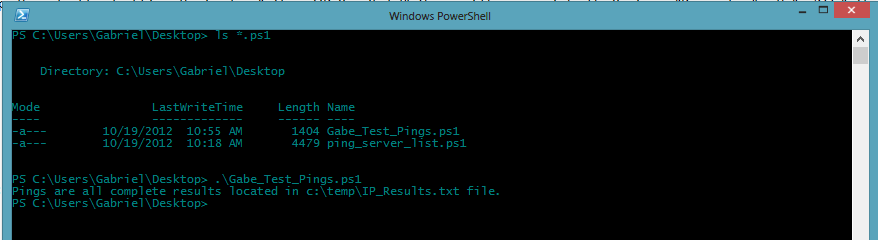Scripting How To: Ping Multiple Servers and Export Results